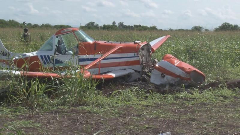 Aeronáutica Civil responsable de notificar acciones de aeronave que desplomo