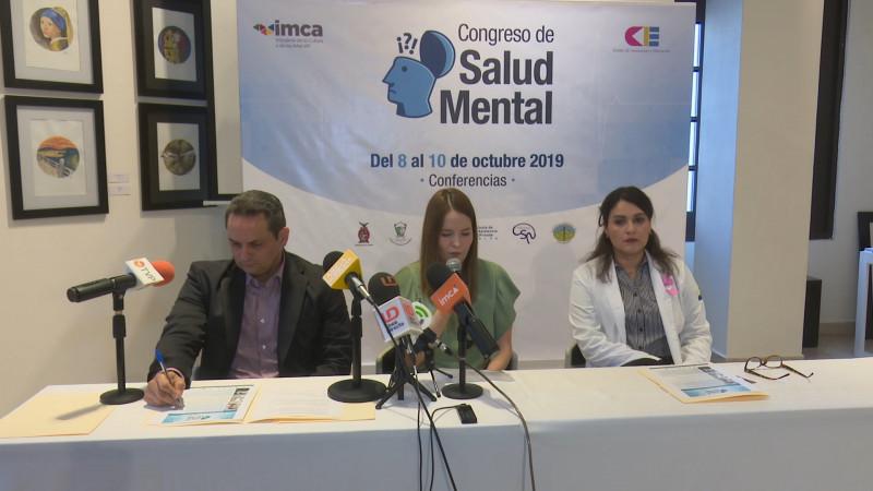 Anuncian el 8vo Congreso de Salud Mental