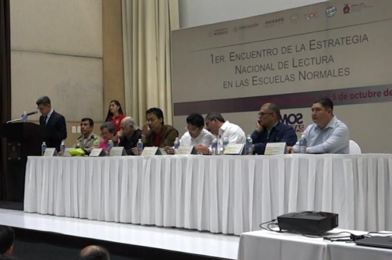 Realizan en Mazatlán el 1er Encuentro de la Estrategia Nacional de Lectura