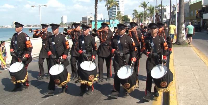 Mazatlán tendrá la capacitación de Escoltas de Bandera y Bandas de Guerra