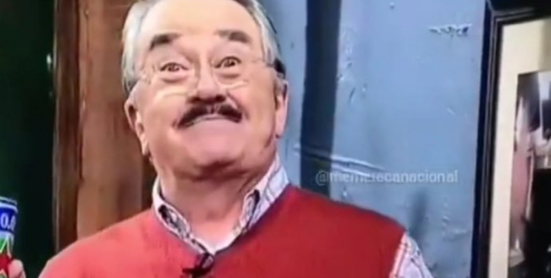 Pedro Sola ¡lo hizo de nuevo!, se vuelve viral con esta mueca