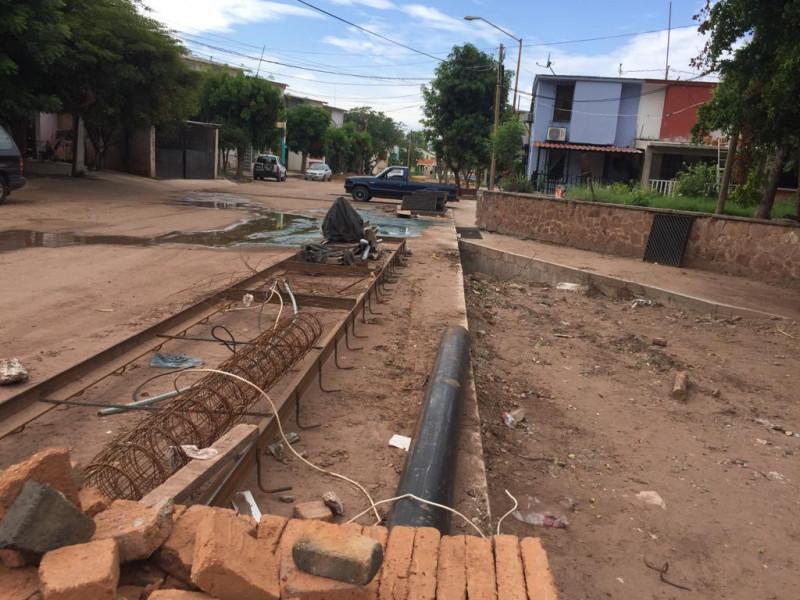 Obras en el arroyo Agustina Ramírez no se están haciendo conforme al proyecto