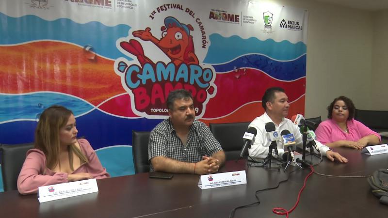 Anuncian Festival del Camarón en Topolobampo