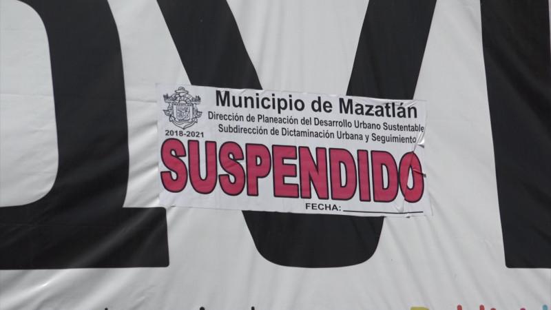 Aplican 'mano dura' ahora al comercio establecido en Mazatlán