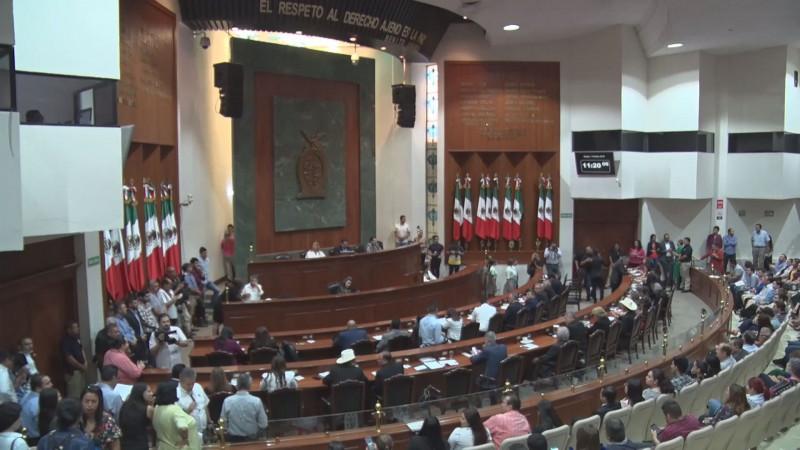 Diputados exhortan al ejecutivo analizar necesidades del pueblo en el presupuesto 2020