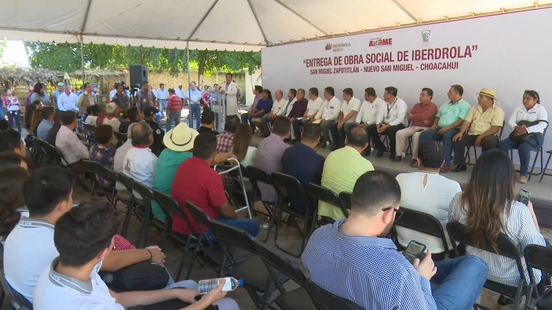 Entregan obras sociales en San Miguel