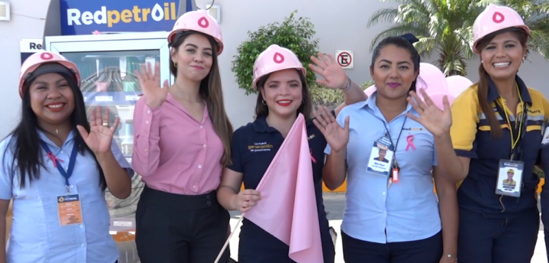 Red Petroil se une a la prevención del cáncer de mama con campaña rosa