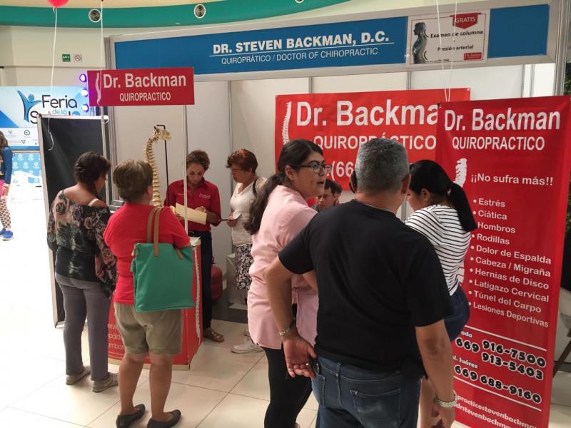 Concluye Feria de la Salud TVP para promover la prevención