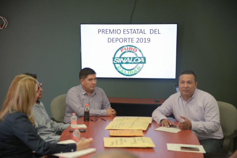 Eligen jurado para el Premio Estatal del DEporte en Sinaloa