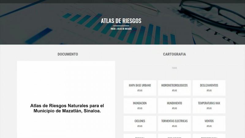 Esta semana, fallo para el Atlas de Riesgo de Mazatlán