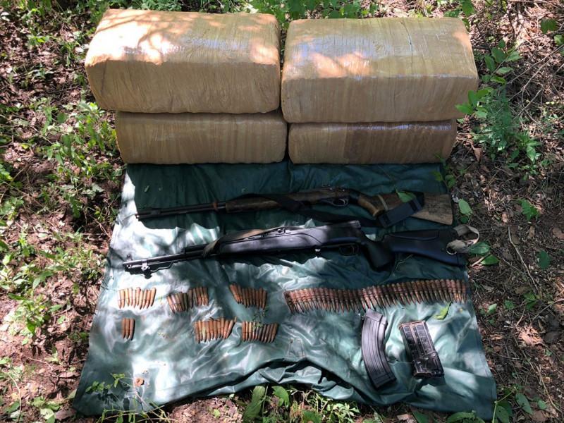 Decomisan droga y armas  en Mocorito
