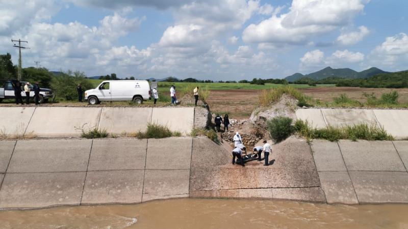 Lo encuentran muerto flotando en el Canal Humaya