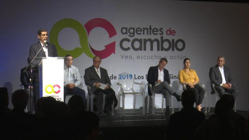 Arranca congreso 'Agentes de Cambio'