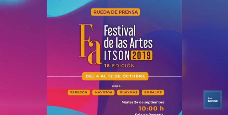 Continúa en Cajeme el Festival de las Artes del Itson