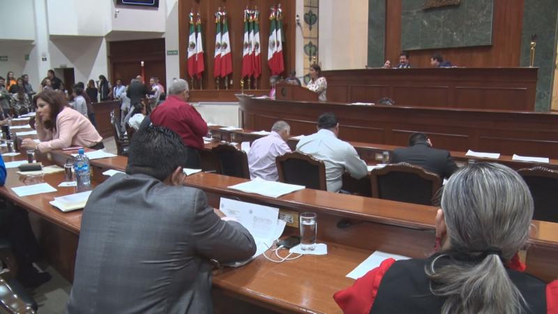 Favorable la ampliación de los periodos legislativos en el Congreso del Estado