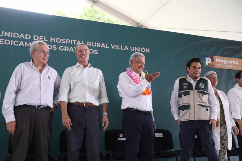 AMLO decidido a fortalacer al sector salud mexiano