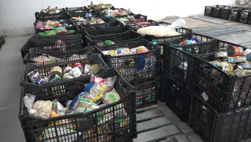 BAM recolecta más de una tonelada de alimentos
