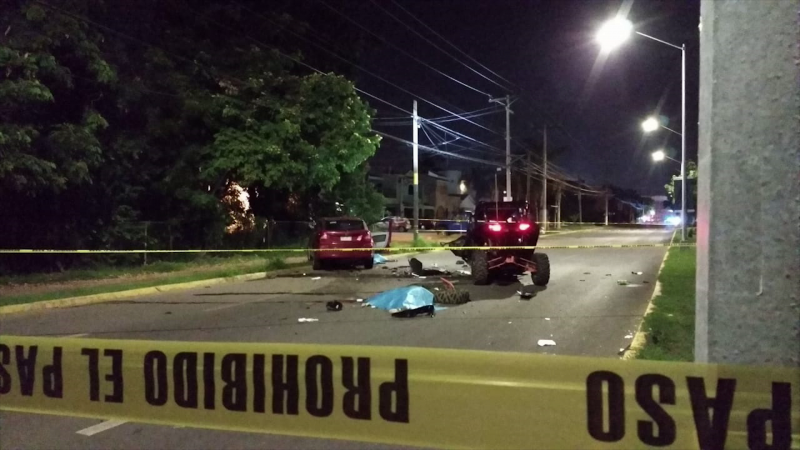 Trágico accidente en razer deja dos muertos