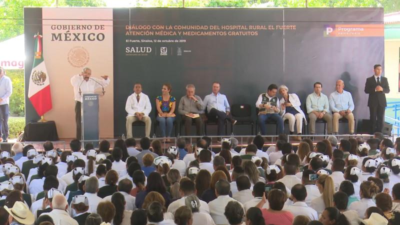 Hospital Rural de El Fuerte, fundamental en la salud pública