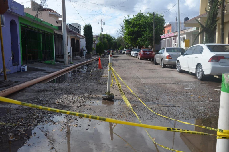 Atiende  JAPAMA problema de drenaje en las Arboledas