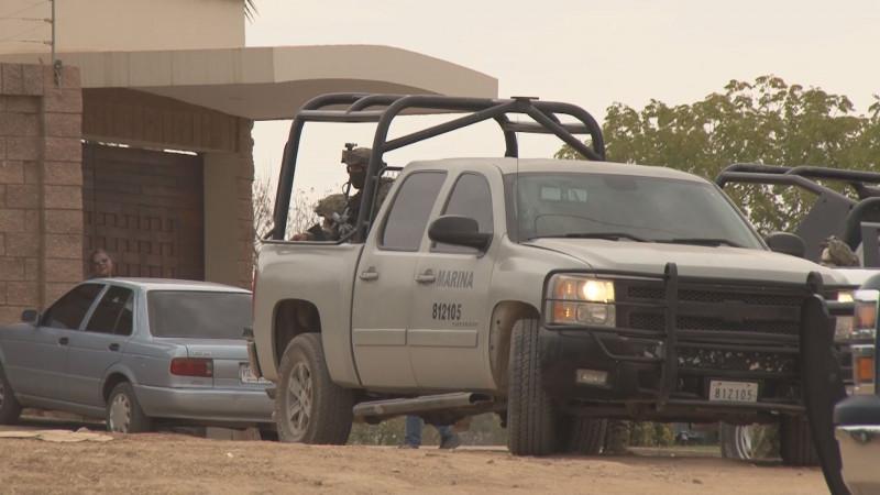 Ninguna instrucción del retiro de La Marina de las tareas de vigilancia en Sinaloa