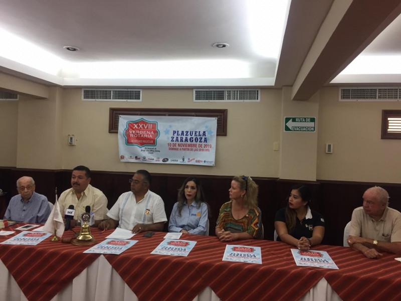 Rotarios anuncian la realización de la XXVII Verbena Gastronómica