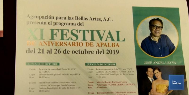 Anunciaron el XI Festival de APALBA