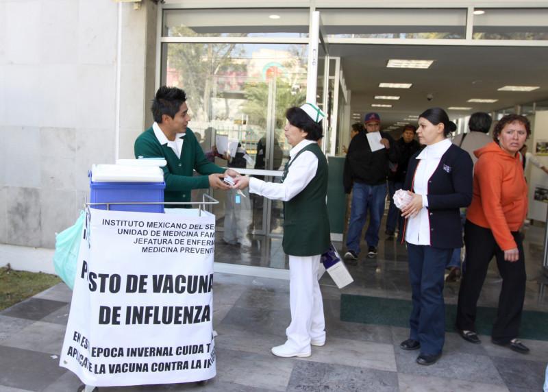 Aplicará IMSS 10 millones 802 mil 118 dosis de vacunas contra la Influenza a derechohabientes