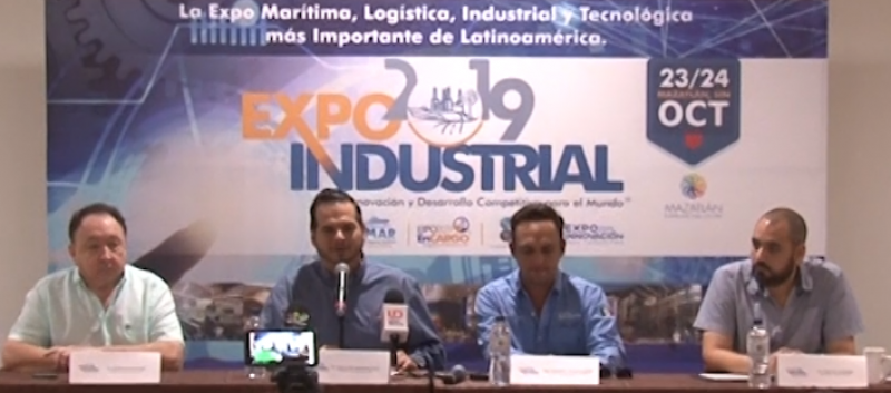 """Todo listo para la """"Expo industrial 2019"""" en Mazatlán"""
