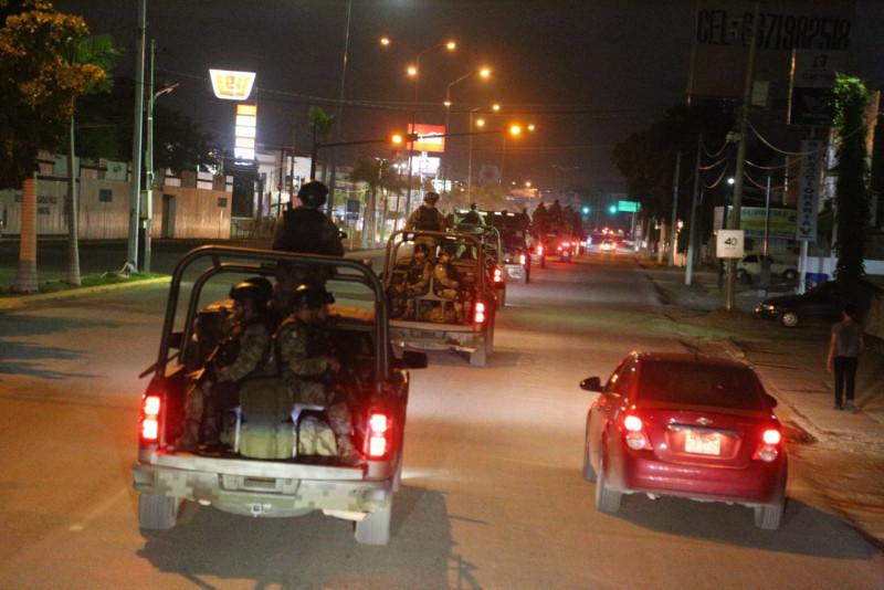 Llegan 230 Soldados y toman las calles de Culiacán