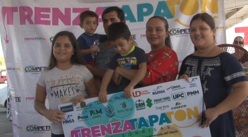 """Inauguran con éxito la tercera edición del """"Trenzatapatón"""" en Mazatlán"""