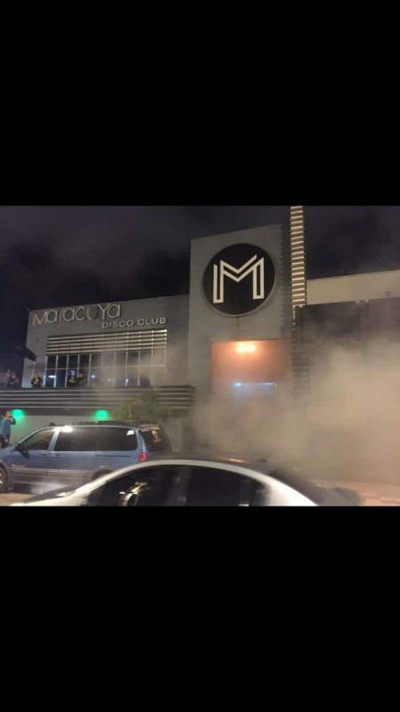 Incendio en la discoteca Maracuyá