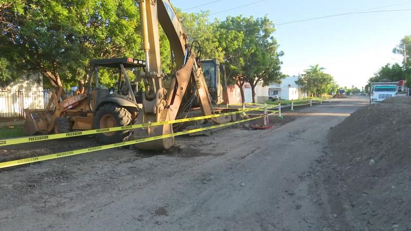 Reconoce Japama daños en Colector Degollado