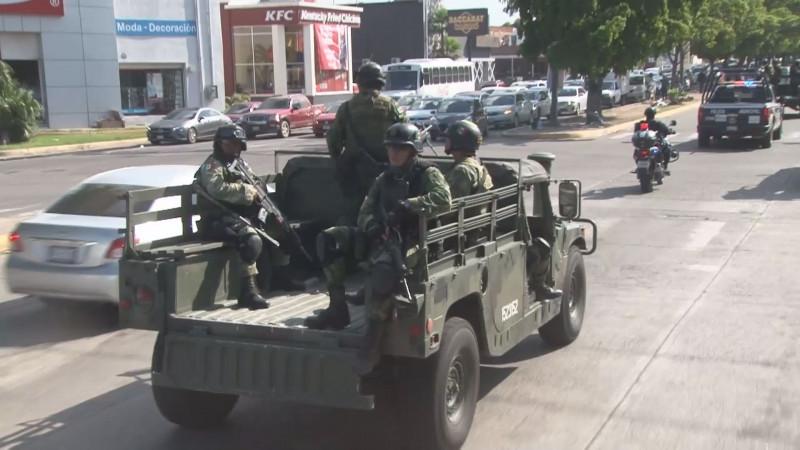 Elemento militares que arribaron al estado deben respetar los derechos humanos de los sinaloenses