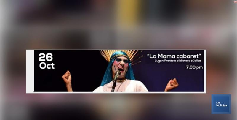 Kiki Diaz Brown pide que se cambie nombre y vestuario a personaje de obra La mama Cabaret
