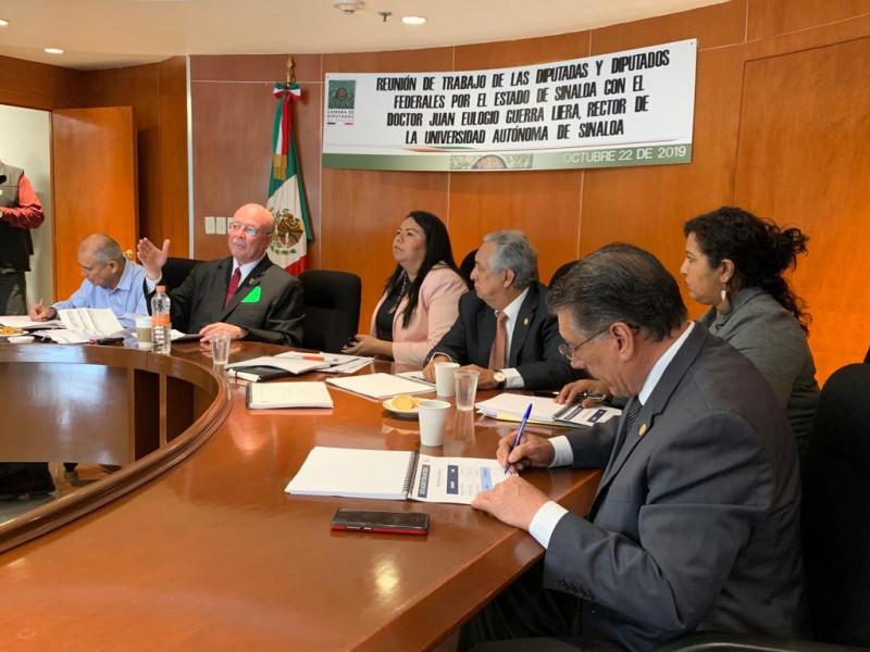 Diputados Federales de Sinaloa muestran apoyo
