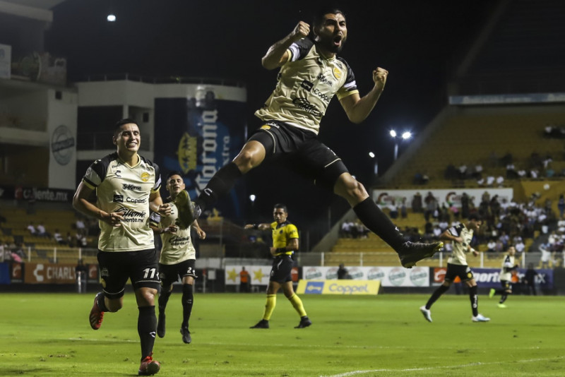 Dorados derrota 2-1 a Necaxa en la Copa MX