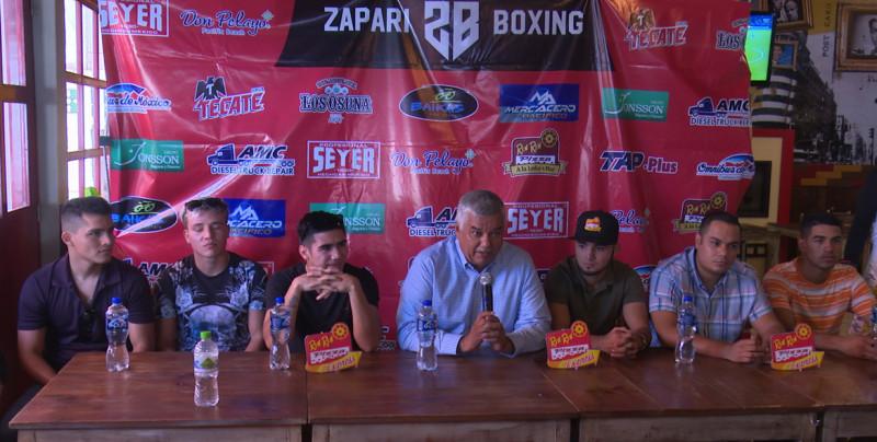 Zapari Boxing anuncia función