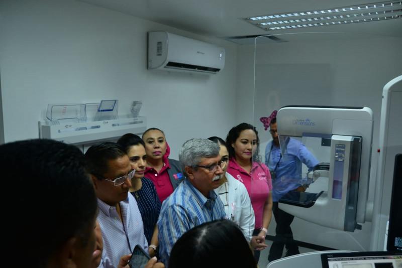 Hospital General de Guamúchil cuenta ya con un mastografo de primera tecnología