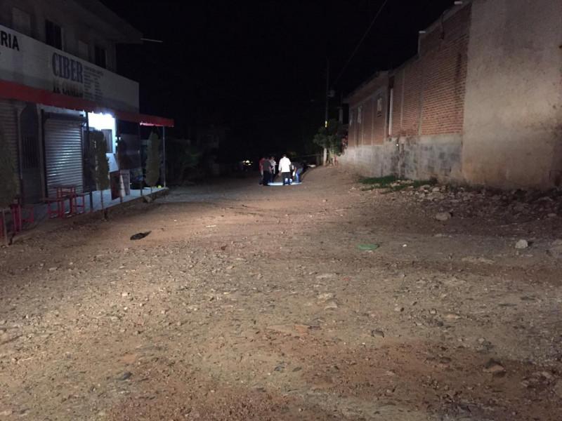 Asesinan a una persona en la Colonia Renato Vega