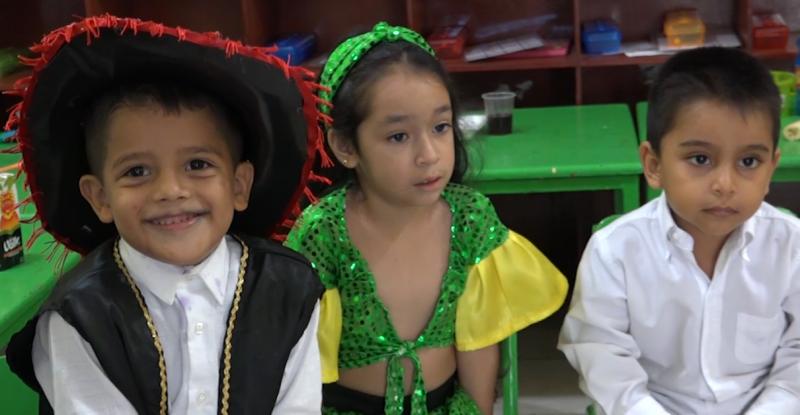 """Alumnos de preescolar conmemoran el """"Día de las Naciones Unidas"""""""