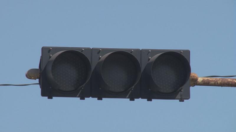 Luz verde de semáforo no funcionan