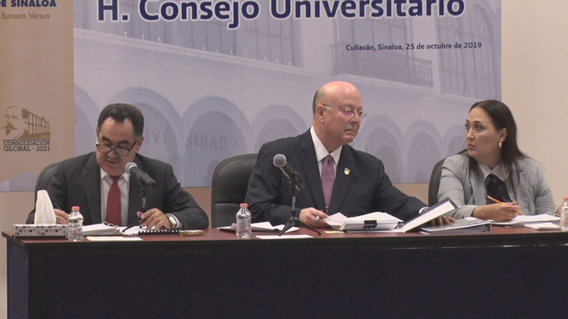 Consejo universitario de la UAS instala sesión