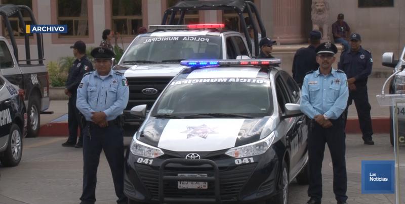 Trabajan sin armas 200 policías de Cajeme