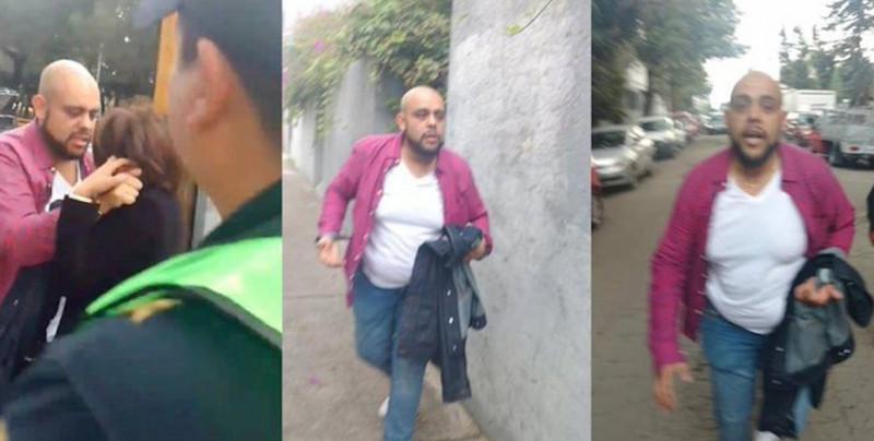 VIDEO: Hombre es captado golpeando a mujer en CDMX