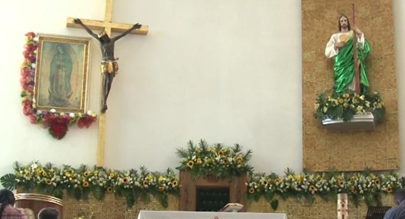 Mazatlecos celebran a San Judas Tadeo con diversas actividades