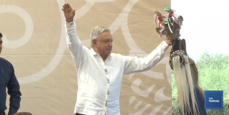 El Pueblo Mayo le pide solución a sus problemas a López Obrador