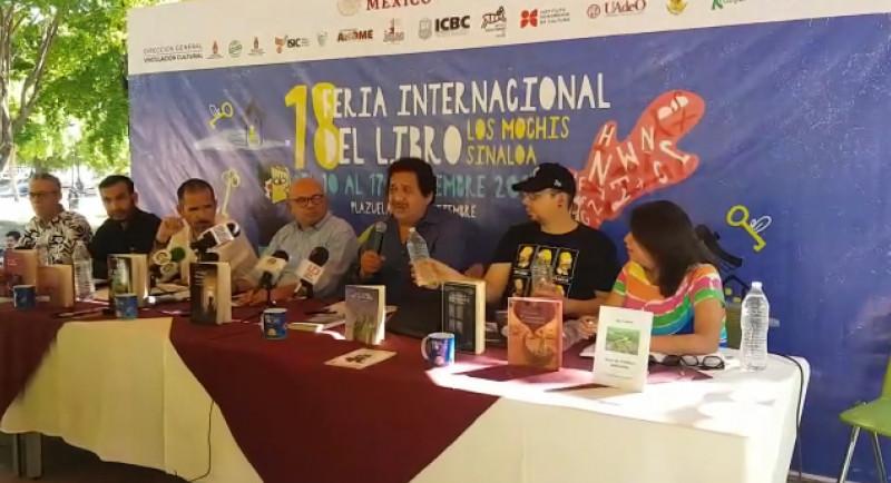 Presentan detalles de la edición 18 de la feria internacional del libro