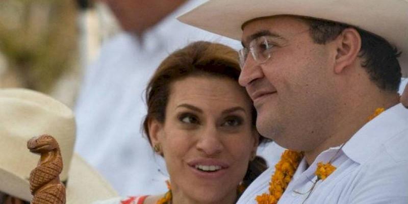 Detienen a Karime Macias esposa de  Javier Duarte