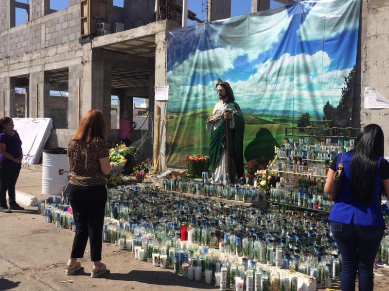 Se reportó persona herida de bala en Iglesia de San Judas Tadeo